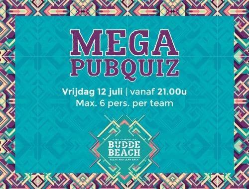 Start Budde Beach met Pubquiz!!