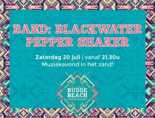 Band: Blackwater Pepper Shaker